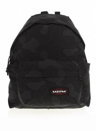Eastpak Eastpak Marka Logolu Desenli Unisex Klasik Sırt Çantası Siyah